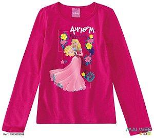 Blusa Princesa Aurora - Disney - Rosa - Malwee