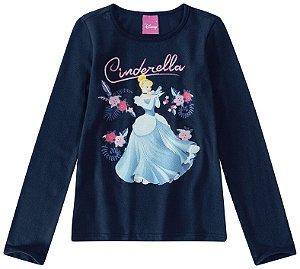 Blusa Princesa Cinderela - Disney - Malwee