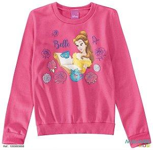 Moletom Felpado - Princesa Bela - Disney