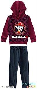 Conjunto de Blusa e Calça Moletom - Marshall - Patrulha Canina