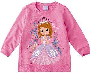 Moletom Felpado Princesa Sofia - Disney - Rosa