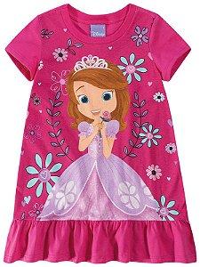 Vestido da Princesa Sofia - Rosa - Malwee
