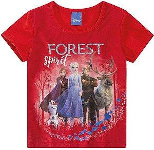 Blusa Infantil Frozen Vermelha - Malwee