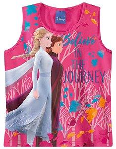 Blusa Frozen 2 - Disney -Rosa