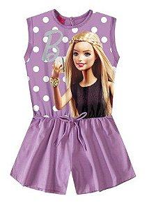 Macacão da Barbie - Lilás