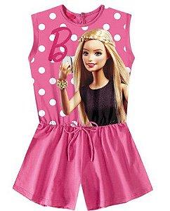 Macacão da Barbie - Rosa