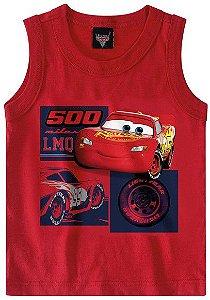 Regata Infantil Carros Vermelha - Malwee