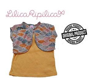 Conjunto Blusa e Bolero - Amarelo - Lilica Ripilica
