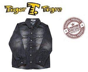 Camisa Tigor T Tigre - Jeans Grafite