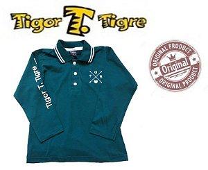 Camisa Polo do Tigor T Tigre  - Verde