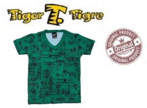 Camiseta  Tigor T Tigre - Aviões