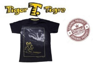 Camiseta  Tigor T Tigre - Preta