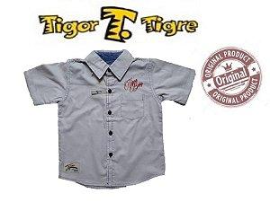 Camisa Cinza Claro - Tigor T Tigre  Baby