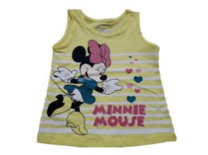 Blusa Baby da Minnie - Disney