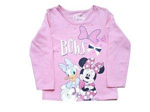 Blusa da Minnie e Margarida - Disney - Rosa