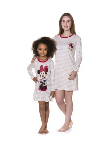 Camisola Minnie Disney - Coleção Mãe e Filha - Off-White