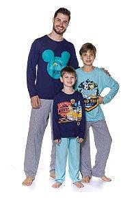 Pijama do Mickey - Coleção Pai e Filho - Disney