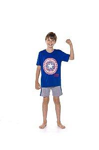 Pijama Capitão América - Marvel Juvenil