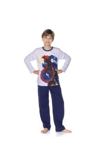 Pijama do Capitão América - Marvel Juvenil
