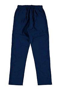 Calça de Moletom Felpado - Azul Marinho - Malwee