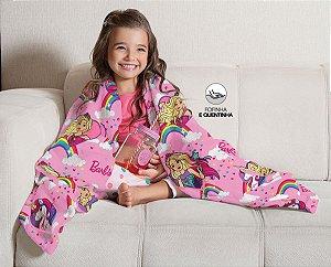 Manta da Barbie - New Style - Sofá