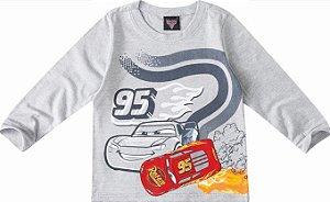 Camiseta McQueen - Carros - Cinza - Malwee