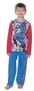 Pijama Capitão América -  Marvel