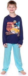 Pijama Infantil Mickey Azul - Disney
