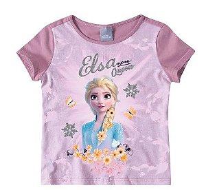 Blusa da Rainha Elsa - Frozen 2 - Disney - Lilás - Malwee