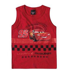 Regata Infantil Carros Mcqueen - Vermelha - Malwee