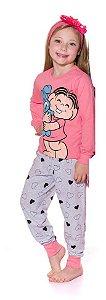 Pijama da Mônica e Sansão