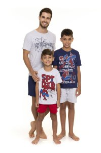 Pijama do Homem Aranha - Coleção Pai e Filho - Marvel Spiderman