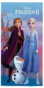 Toalha Aveludada da Frozen