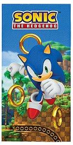 Toalha Aveludada do Sonic