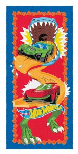 Toalha Felpuda do Hot Wheels