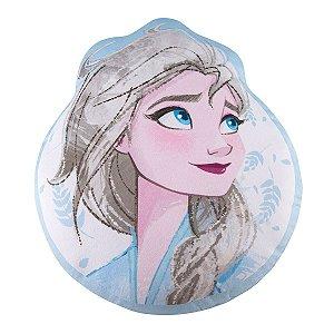 Almofada da Frozen 2 - Elsa - Disney - Azul Céu - Lepper