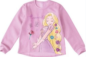 Moletom Felpado Princesa Rapunzel Disney - Rosa - Malwee