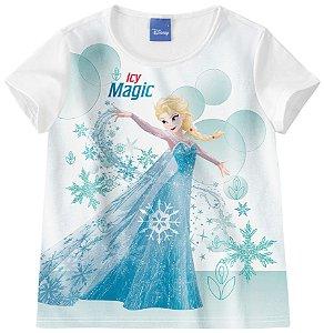 Blusa Infantil Frozen Be Magic Branca - Malwee
