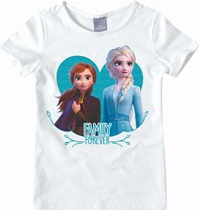Blusa da Elsa e Anna - Disney Frozen 2 - Branca