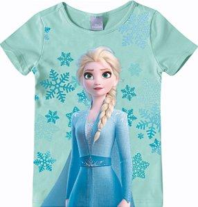 Blusa da Rainha Elsa - Disney Frozen 2 - Azul