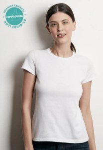 Blusa Baby Look Viroblock® Feminina - Branca - Adulto - Malwee Protege
