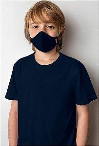 Camiseta Viroblock® Infanto Juvenil - Malwee Protege - Azul Marinho