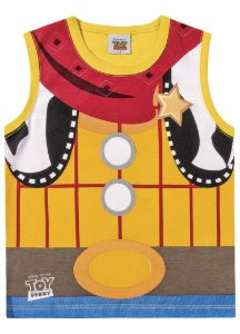 Regata Woody - Toy Story - Disney - Amarela