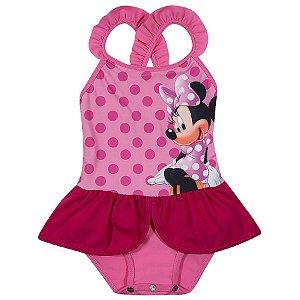 Maiô da Minnie - Disney  - Rosa