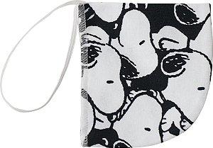Máscara Infantil Snoopy - Branco e Preto - Malwee