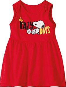 Vestido Body Snoopy - Vermelho - Malwee