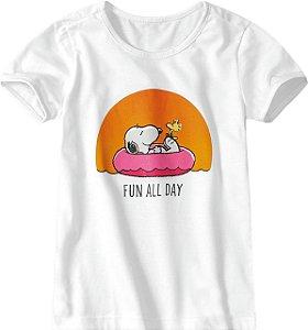 Blusa Snoopy - Branca - Malwee