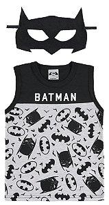 Regata Batman com Máscara Preta - Marlan