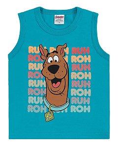 Regata Infantil Scooby-Doo Azul - Marlan