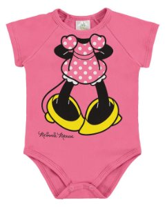 Body Minnie Disney - Rosa - Marlan